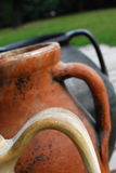traitements antiques d'amphora Photo libre de droits