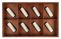 Traitements différés d'amorçage dans un cadre Photos stock