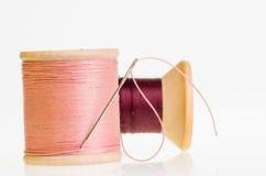 Traitements différés d'amorçage de couture avec le pointeau Images stock