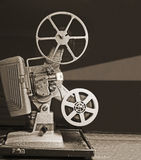traitements différés de projecteur de 8mm Photographie stock libre de droits