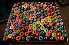 Traitements différés des amorçages colorés Photo stock