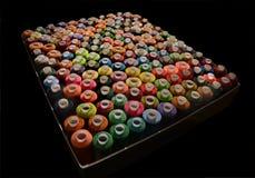 Traitements différés des amorçages colorés Photographie stock