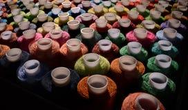 Traitements différés des amorçages colorés Image stock