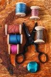 Traitements différés des amorçages de couture Photo libre de droits
