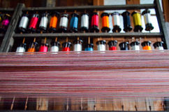 Traitements différés des amorçages en soie Photographie stock