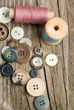 Traitements différés des amorçages et des boutons Photographie stock