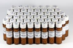 Traitements homéopathiques Photo stock