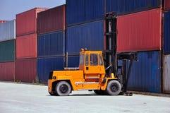 Traiter de conteneur Photo libre de droits