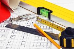 Traites de construction Image libre de droits