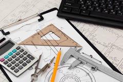 Traites de construction Photographie stock