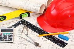 Traites de construction Images stock