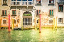 Traitional Venice house, Italy Stock Photo