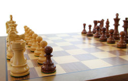Traitor. Chess pawn that has switched sides Stock Image