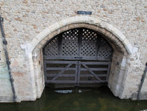 Traitors Gate Stock Photography