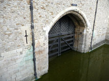 Traitors Gate Tower Of London 5 Royalty Free Stock Photography
