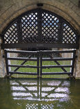 Traitors Gate at the Tower of London Stock Images