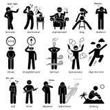 Traits de caractère neutres de personnalités Clipart Images libres de droits