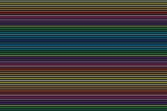 Traits horizontaux abstrait illustration de vecteur