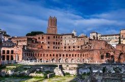 Trajan�s Markets, Rome Royalty Free Stock Photography