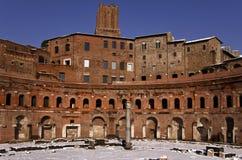 Trajan市场 免版税库存照片