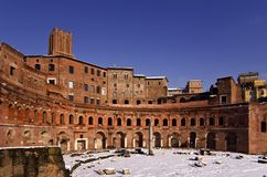 Trajan市场 库存照片