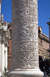 Trajan的专栏的细节 库存照片