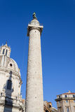 Trajan的专栏-罗马 免版税库存照片