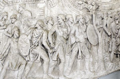 Деталь столбца Trajan Стоковое фото RF