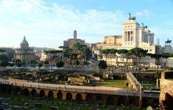 Trajan antigo Fotografia de Stock
