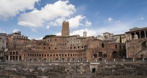 Trajan antiguo Fotografía de archivo