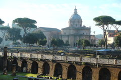 Trajan antique Images stock
