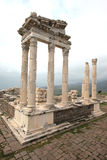Acropolis of Pergamon in Turkey Stock Image
