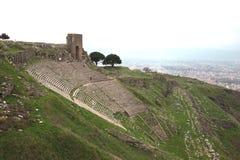 Acropolis of Pergamon in Turkey Royalty Free Stock Photography