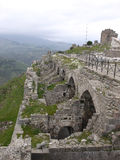 Acropolis of Pergamon in Turkey Stock Images