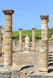 Trajan cesarz w Baelo Claudia, Tarifa, Cadiz prowincja, Hiszpania zdjęcie royalty free