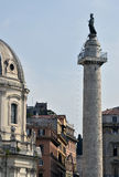 Trajan column Stock Photo