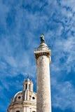 Trajan Column on Capitol, Rome Royalty Free Stock Image