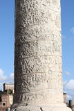 Trajan column in Rome Royalty Free Stock Photography