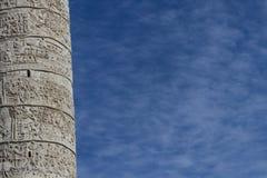 Trajan column in Rome Stock Photo