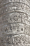 Trajan column in Rome Royalty Free Stock Photo