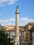 Trajan Column Royalty Free Stock Photo