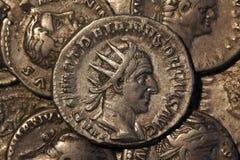 Trajan Decius Antoninianus Rome 249-251, Roman coins Royalty Free Stock Image