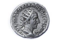 Trajan Decius Antoninianus Rome 249-251, Roman coins Stock Image