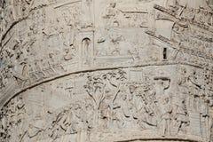 Trajan&en x27; s-kolonn arkivfoto