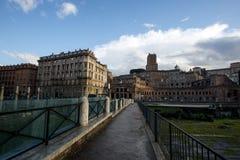 Trajan forum Stock Photo