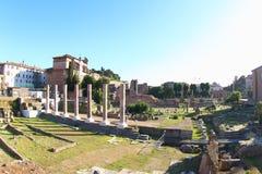 Trajan Forum, Rom Stockfotografie
