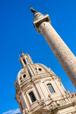 Trajan forum, Rome. Royalty Free Stock Image