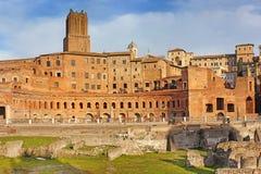 Trajan forum, Rome, Italy Stock Images