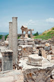 Trajan Foundation in Ephesus, Turkey Stock Images