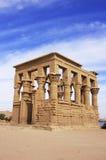 Trajan kiosk, Philae Temple, Lake Nasser Stock Images